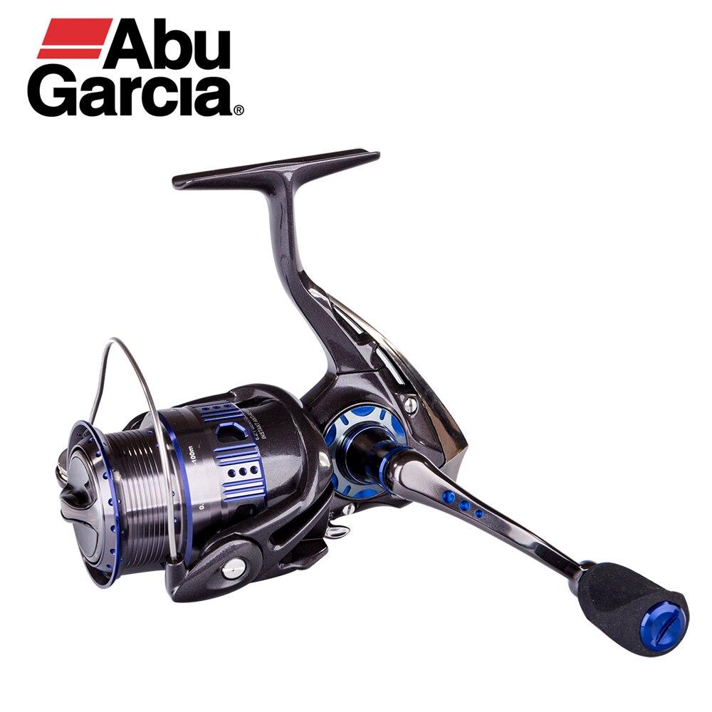 Abu Garcia REVO DEEZ Spin Ruota Da Pesca In Carbonio 7.4 oz Leggero 10 Cuscinetti 6.2: 1 originale In Lega di Alluminio Bobina Bobina di Filatura