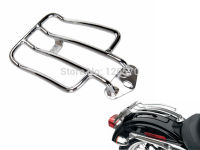 Motorcycle parts Chrome Steel Solo Luggage Rear Fender Rack Short for 2004 Up Harley Sportster XL