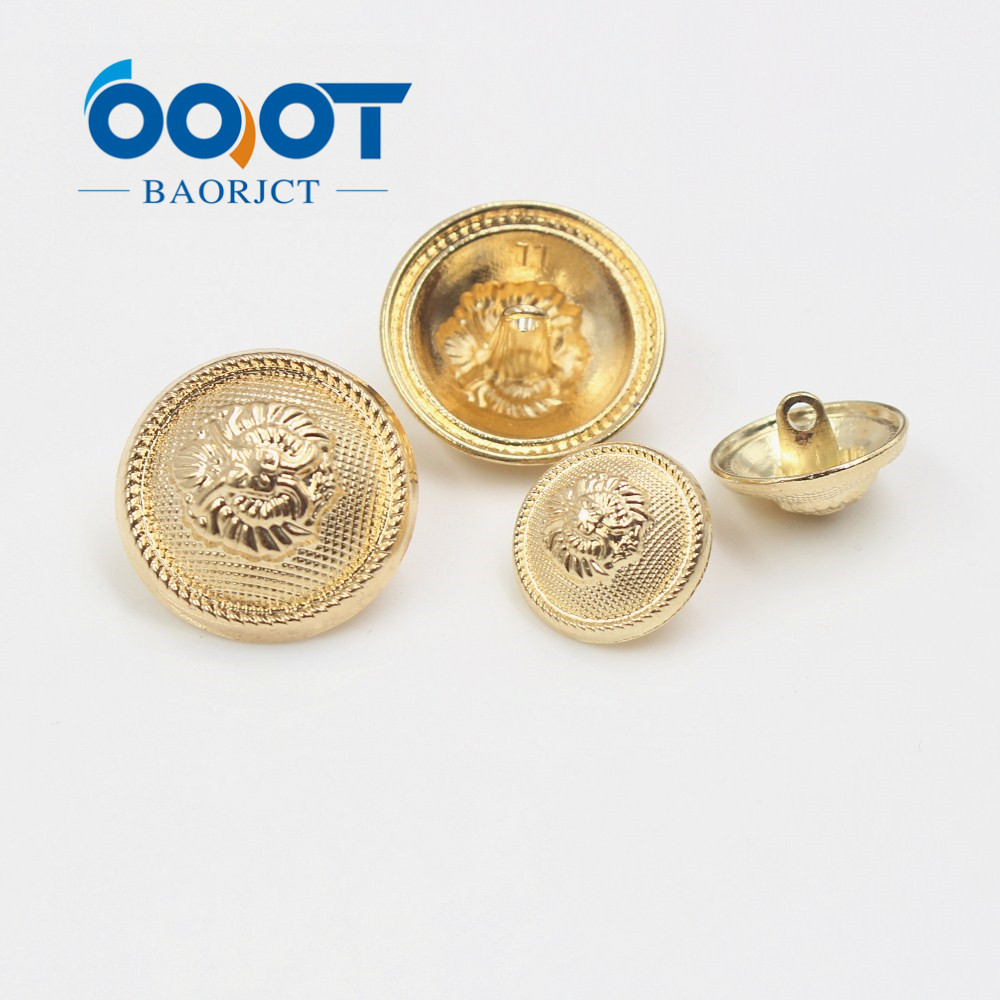 Suits Jacket Sport Coat Generous 179162,10pcs/lots Gold Vintage Antique Metal Blazer Button Set For Blazer Uniform 3d Lion Head