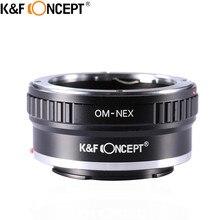 K & F концепция Камера переходное кольцо для объектива для Olympus OM объектив на для Sony NEX E крепление Alpha A5000 7R A3000 A7 A7R A6000