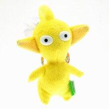 Новая игра Pikmin плюшевые игрушки, забавные желтые Pikmin цветок Peluche Игрушки Куклы 14 см