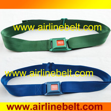 2017 Top quality Colorful auto car seat belt non-rust aluminum buckle fashion belt for man and woman shipping free