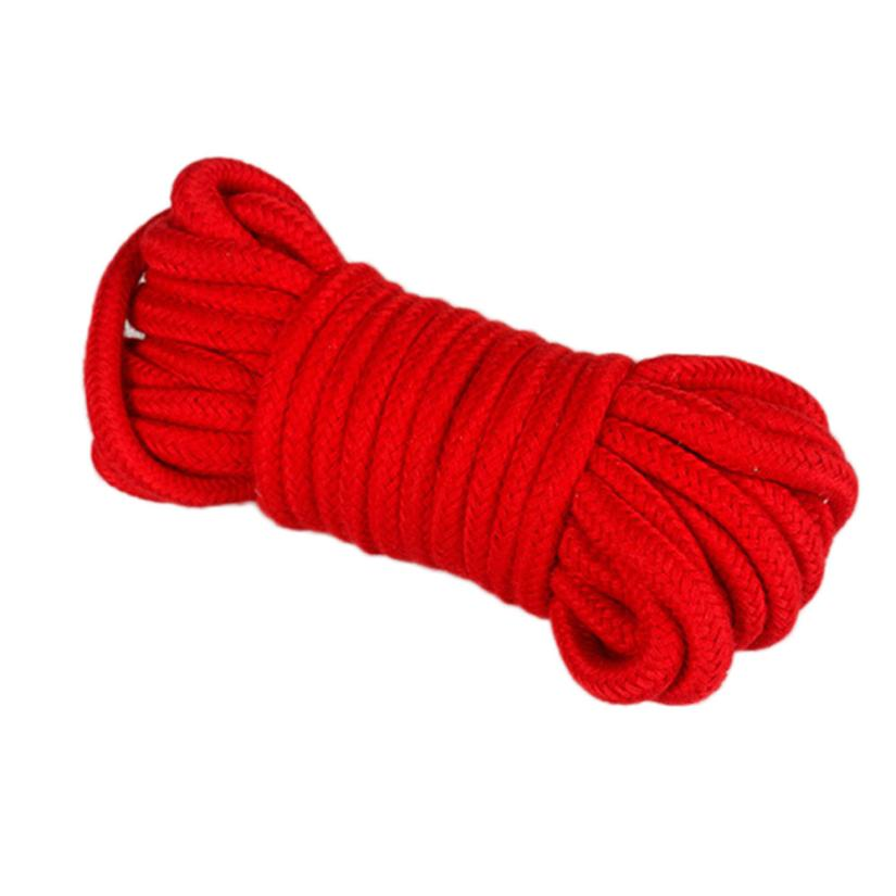 Sex Rope Bondage Binding 16 foot 5m Long Soft Cotton Rope Adult Sexual Toys New Hot