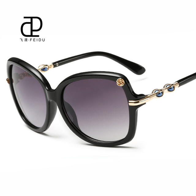 cd5da8e1260b FEIDU New Butterfly Sunglasses Brand Design Vintage Women Coating Sun  Glasses For Women UV400 Protection Oculos De Sol Feminino