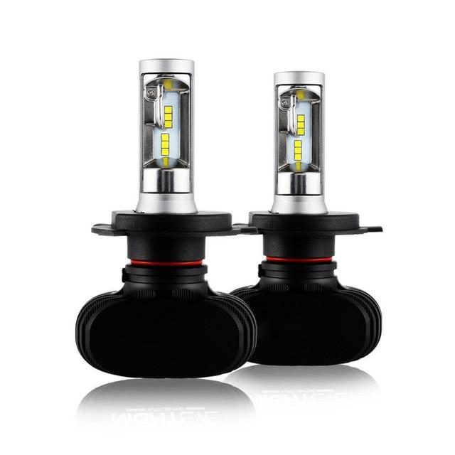 2pcs H1 H4 H7 9005 LED Car Light Headlight Bulbs LED Lamps For Cars High Low Beam 50W 8000LM 6500K White LED Car Light