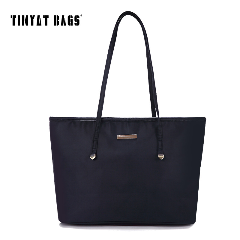 TINYAT 2017 Handbag Large Capacity Casual Women Handbag lady's Bag Quality Trave
