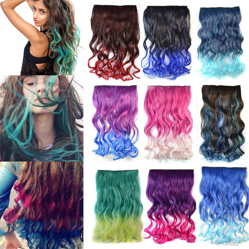 28 Colors Available 24 60cm Womens Fashion Long Curly Style