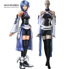 2017 del personalizar para adultos envío gratis kingdom hearts birth by sleep aqua cosplay incluye traje prop accesorio