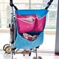 Cochecito de bebé bolsa de almacenamiento organizador pouch prevenir la consola portavasos cochecito del basculador bebé-mkc013 pt49 al por mayor