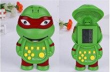 Frog Shaped Electronic Tetris Handheld Game Player