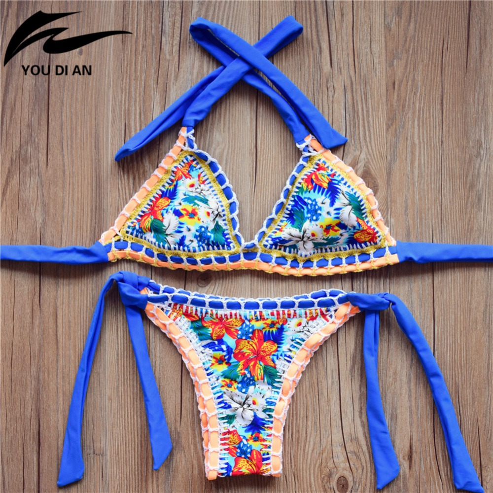 Compra bikini de ganchillo online al por mayor de China ...