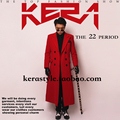 Red cashmere long jacket outwear coat for singer dancer ds dj jazz performance nightclub bar groom men  bar fashion prom