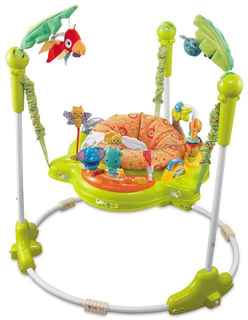Multifunctional Electric Baby Jumping Walker Cradle Rainforest Baby Swing Rocking Chair Baby Activity Center Electric Baby Swing