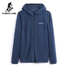 Pioneer camp mew winter warm fleece jacket men brand clothing zipper solid hooded jacket coat male thicken outerwear AJK802309