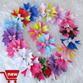 """Hand Customize Free Shipping 20 pcs BLESSING Girl Hair Accessories attached alligator clips 3"""" butterfly fairy wings hair bows"""