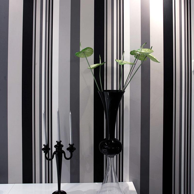 preis auf black white wallpaper vergleichen - online shopping ... - Wohnzimmer Tapeten Schwarz Weis
