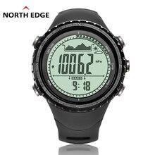 NorthEdge Digital del deporte de Los Hombres Horas reloj de Los Hombres Militar reloj de pulsera de Regalo de Altitud Barómetro Brújula Termómetro Podómetro de camping