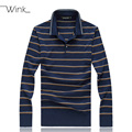 Mens Wool Sweaters Striped Patterns Square Collar High Quality Tencel Winter Clothing Blusa Masculina Sueter Big Size M-8XL J094