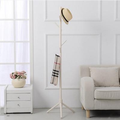 8 hooks Solid wooden Coat Rack Wall Hat shelf Scarves rack Living Room Furniture цена