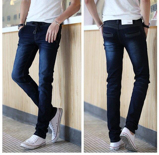 hot autumn winter men skinny jeans plus size 28 to 34, 36 pencil ...