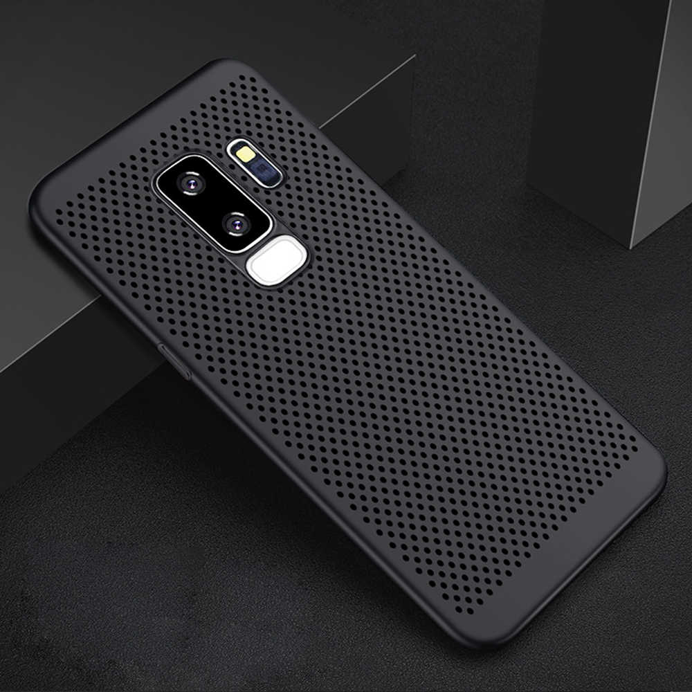 Ultra Slim Case untuk Samsung Galaxy S8 S9 S10 Plus S6 S7 Edge Hard PC Case untuk Samsung S9 S8 Catatan 8 9 10 Pro S10 E Lite Cover