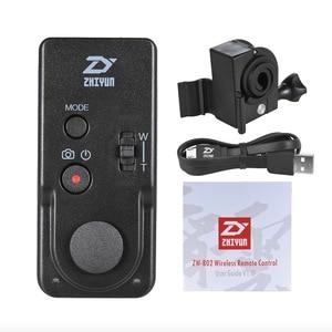 Image 3 - جهاز تحكم لاسلكي من zhi yun Zhiyun للتحكم عن بعد ZWB02 لرافعة 2 رافعة زائد رافعة V2 رافعة M محمول باليد Gimbal