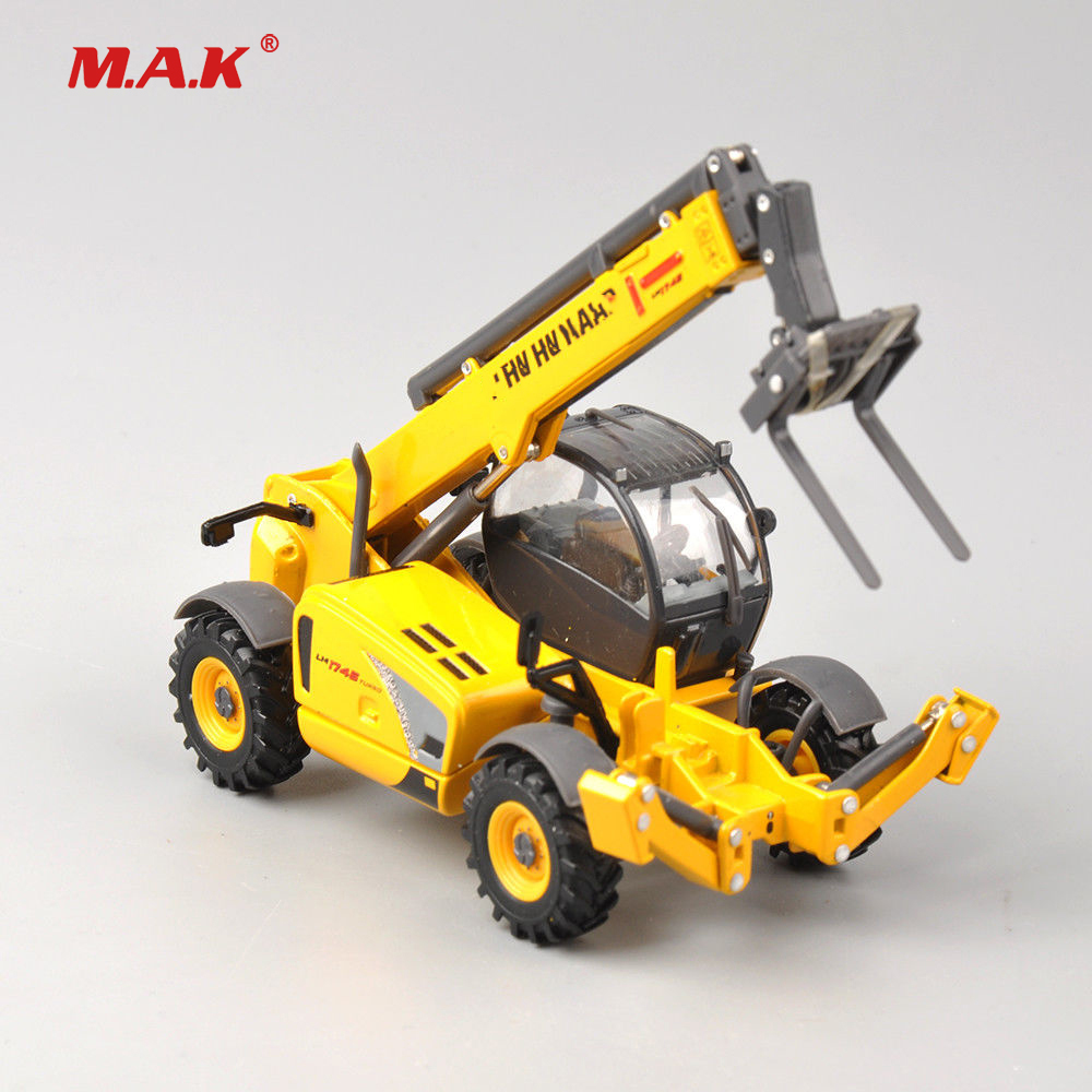 kids toys Collection Diecast 1/50 Telehandler LM1745 Turbo Construction Truck Engineering Vehicles Model