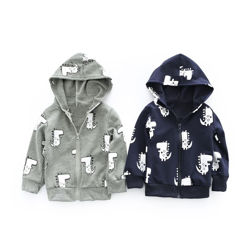 New fashion Children Outerwear Clothing Boys Girls Dinosaur Hoodie Rain Coat Baby Kids Child Sports Clothes Jackets Coats