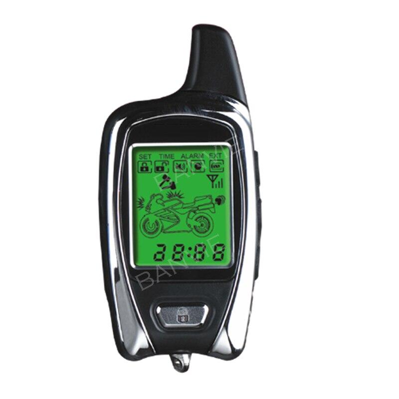 Передатчик дистанционного управления с сигнализацией мотоцикла, 2 способа слежения, 1 шт., работает только для пульта дистанционного управл...