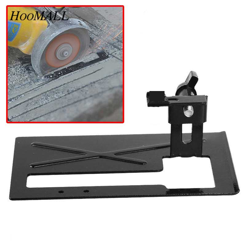 Hoomall Angle Grinder Dedicated Cutting Seat Stand Machine Bracket Rod Table+1Pcs Cover Shield Safety Woodworking Tools xeltek dedicated burn seat cx3015 seat mqfp64 conversion adapter