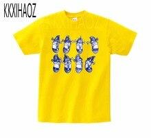 VeggieTales Larry The Cucumber Short Sleeve T- Shirt 2019 Newest  summer Tshirt boys,girls Tshirts print baby MJ