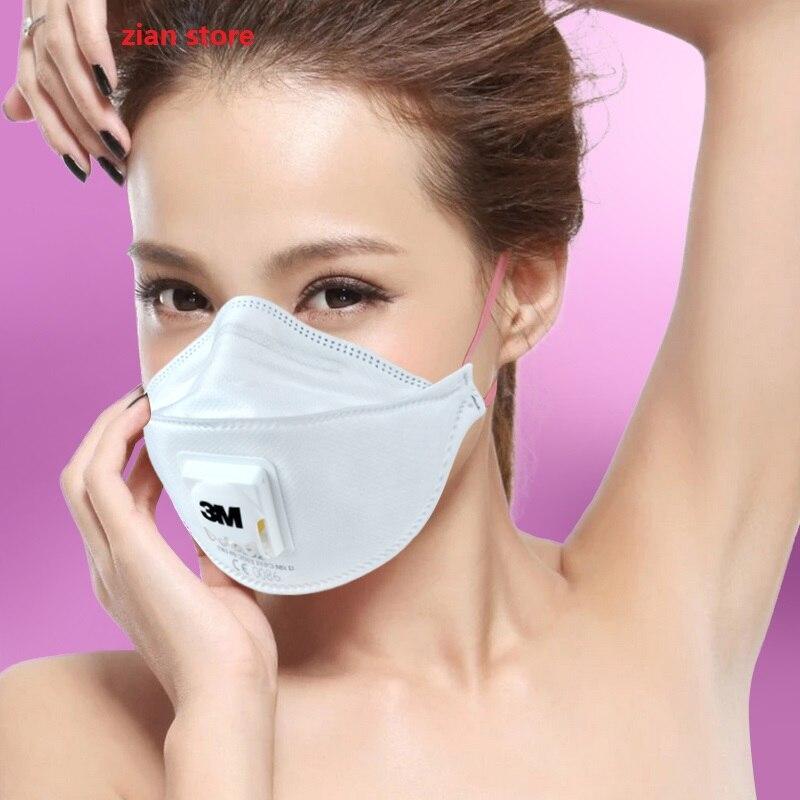 Original 3M 9332 Dust Masks Anti Pm2.5 FFP3 N99 Cool Flow Welding Safety Respirator Anti Influenza Virus Particles Bacteria