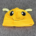 32cm Anime Cartoon Charmander Plush Stuffed Hat Doll Animal Charmander Cap for Kids Great Christmas Gift