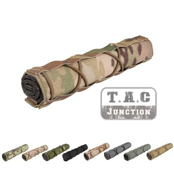 Emerson 22cm Silencer Airsoft Suppressor Cover Mirage Heat Shield Sleeve EmersonGear Shooting Muffler Baffler Protect
