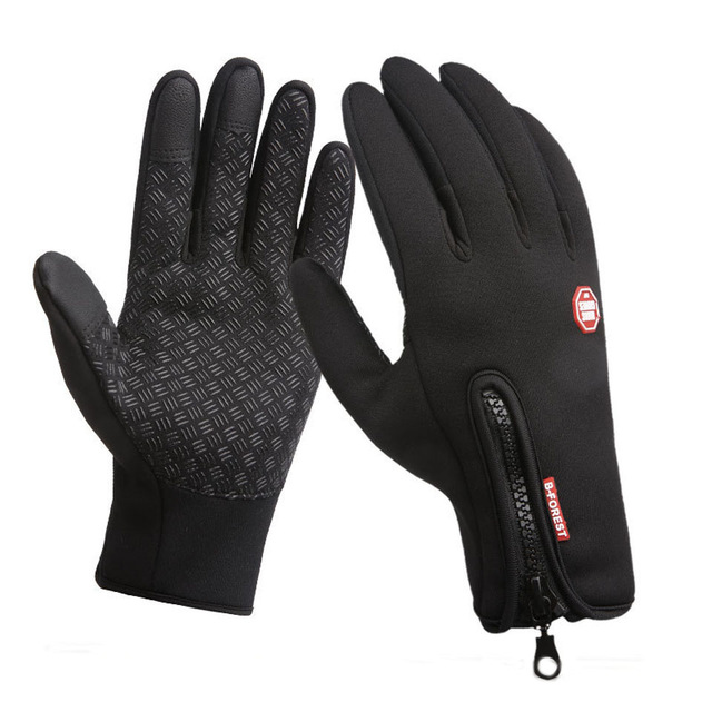 Waterproof Winter Warm FIshing Gloves Touch Screen Snow Ski Gloves Snowboard Gloves Motorcycle Riding Winter  Windstopper Glove