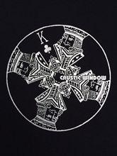 CAUSTIC WINDOW T-SHIRT APHEX TWIN REPHLEX JOYREX ACID UK TECHNO BLACK DOG ETC