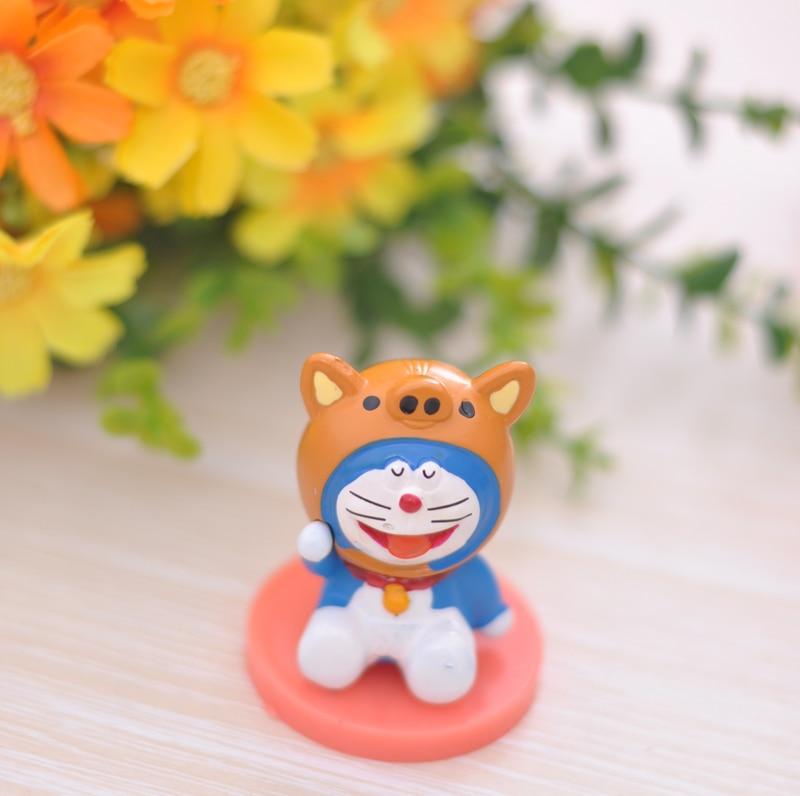 12pcs/set Doraemon anime Action Figures Anime PVC brinquedos Collection Figures toys AnnO00684H
