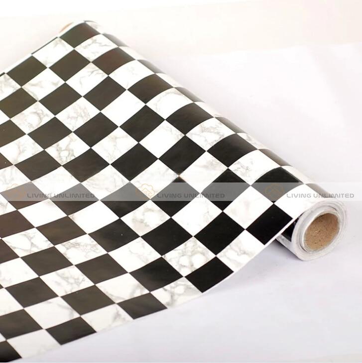 papier peint damier noir et blanc | sedgu