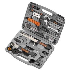 IceToolz инструменты для велосипеда 46 в 1 многофункциональный инструмент для ремонта велосипеда 82A6 Pronto набор инструментов Cr-Mo CNC проектированны...