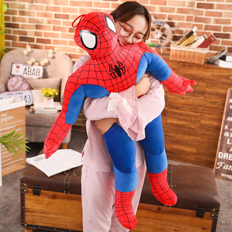 Avengers Spiderman Plush Toy Cartoon Plush Doll Super Hero Movie Figure Soft Stuffed Spider-man Doll Birthday Gifts For Children