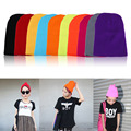 Beanies hat 2016 New Fashion 20 Colors Unisex Knitted Caps Winter Warm Wool Beanies Free Shipping DM#6