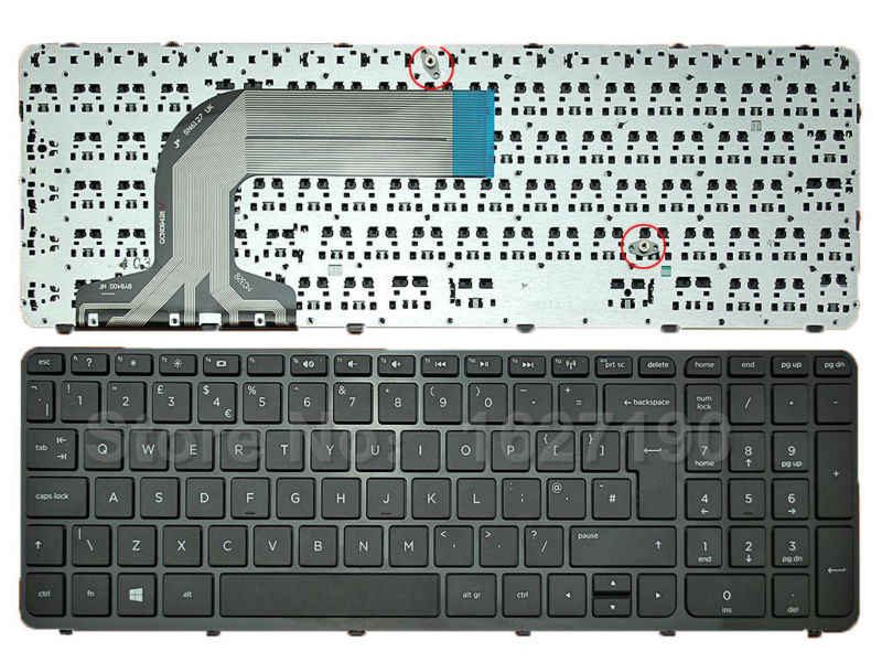 HP Pavilion 17-E021NR Keyboards4Laptops UK Layout Glossy Black Frame Black Windows 8 Laptop Keyboard for HP Pavilion 17-E020SF HP Pavilion 17-E022SG HP Pavilion 17-E020US HP Pavilion 17-E020SS
