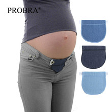 Пояс для беременных, пояс для беременных, джинсы, аксессуары, регулируемый эластичный пояс, расширитель, одежда, штаны, талия, 1 шт., хлопок, L