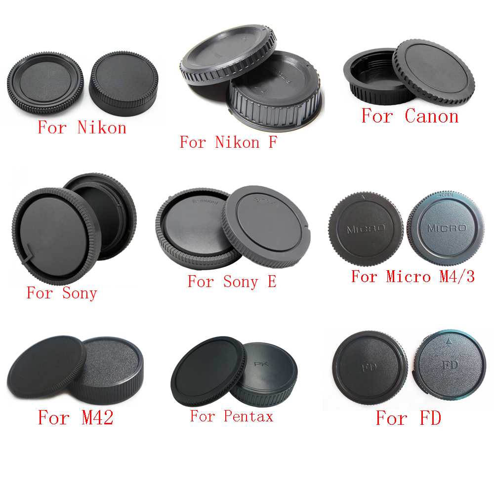 Cap Retro Objective Compatible for Leica-R Rear Lens Cap New Italy