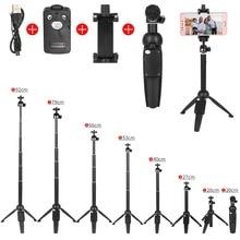Składany Selfie Stick Mini statyw Monopod Bluetooth pilot i statyw kamery stojak do montażu uchwyt do smartfonów, pick