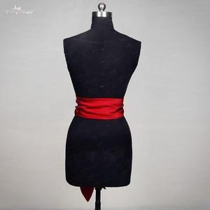 Image 3 - RSS12 Red Satin Wedding Belt