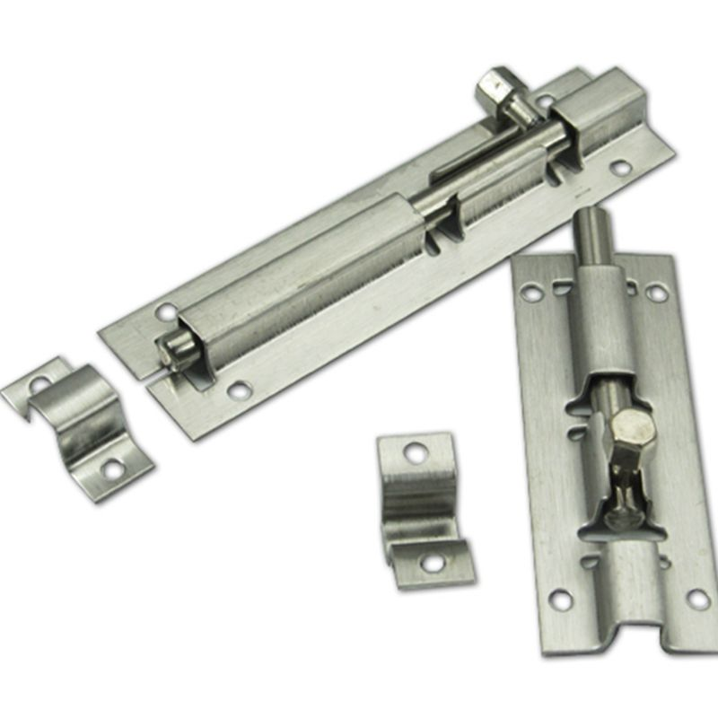 DHL Free Shipping 100pcs of 3inch Stainless Steel Square Door Bolt Latch  Toilet Door Latch Set. Popular Toilet Door Latches Buy Cheap Toilet Door Latches lots