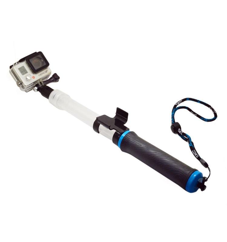 Flottant Extension Pôle EVO 14-24 pouce Float Floaty Monopode Avec À Distance Clip Gopole Pour Gopro Hero4 3 + SJ Xiaomi yi GP266