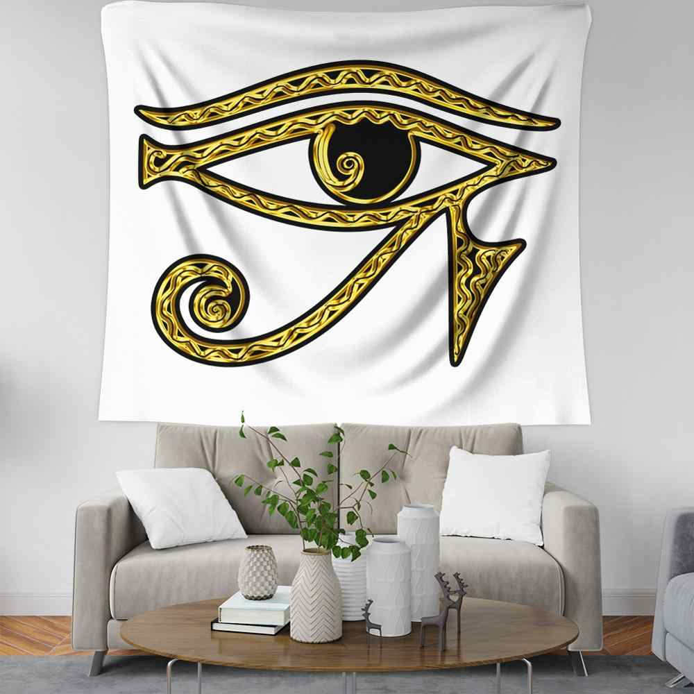 อียิปต์ decor tapestry eye of horus wall ผ้าห่ม hippie decor mandala tapestry กำมะหยี่ tapiz mandala pared