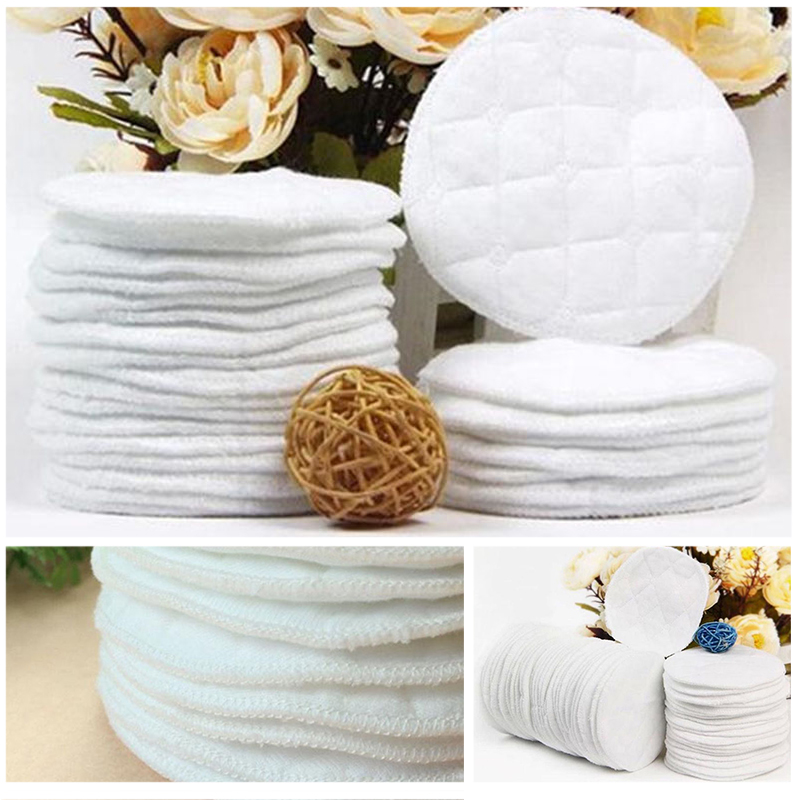 10pcs/20pcs Reusable Nursing Breast Pads Washable Soft Absorbent Feeding Breastfeeding Pad